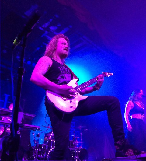Timo Somers of Delain