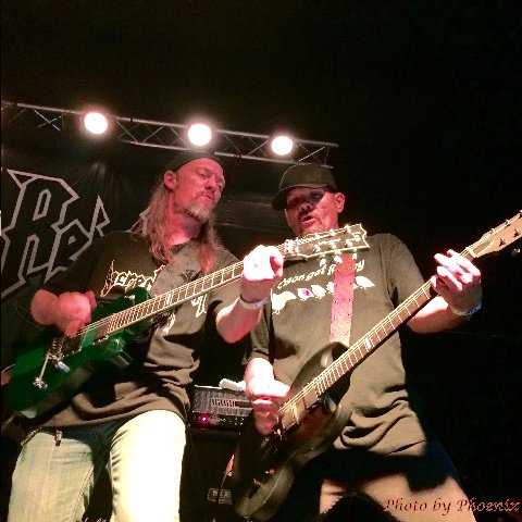 Wiley Arnett and Jason Rainey of Sacred Reich 6-6-15